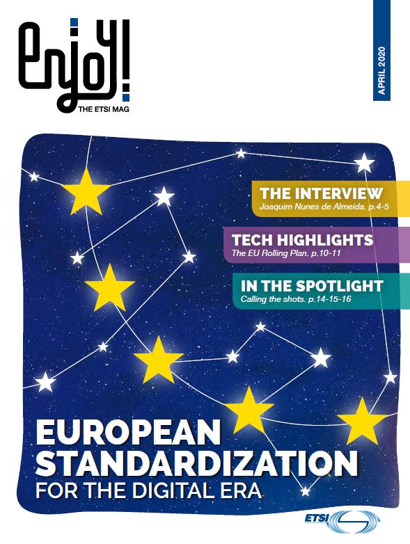 Enjoy ETSI Mag April 2020